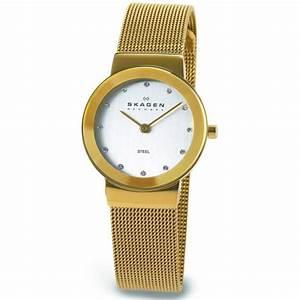 Marque De Montre Femme : montre skagen acier 358sggd femme sur bijourama montre ~ Carolinahurricanesstore.com Idées de Décoration