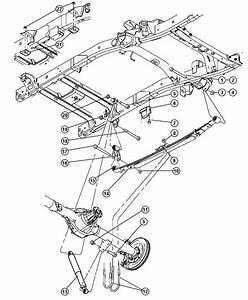 2004 Dodge Ram 3500 Shock Absorber  Suspension  Rear