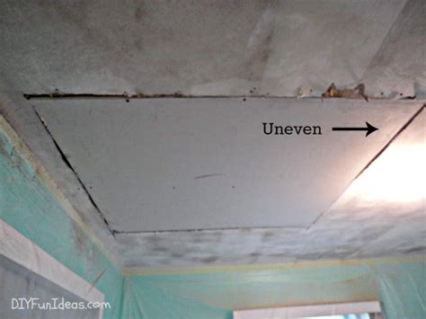 how to fix gap between how to fill gap in drywall between wall and ceiling