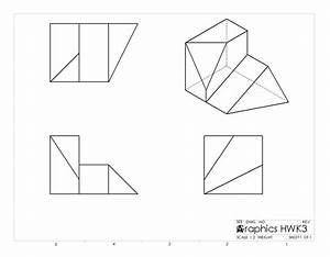 35  Ideas For Multiview Drawing Examples