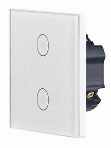 Interrupteur Compatible Google Home : double interrupteur tactile connect lhc ~ Nature-et-papiers.com Idées de Décoration