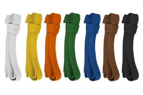 karate belt colors karate belt colours and meaning
