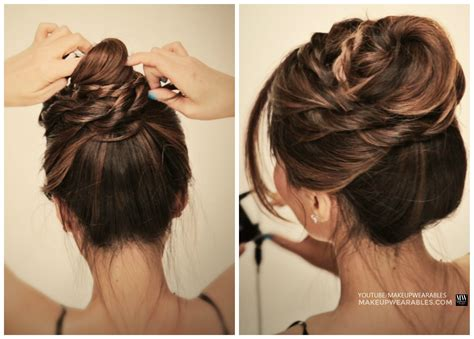 quick easy messy bun hairstyles hairstyles for women