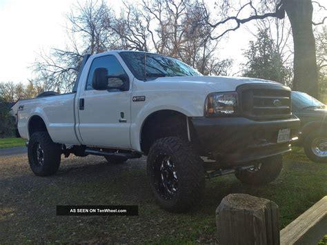 custom lifted  ford  powerstroke diesel