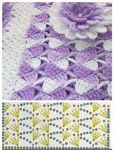 Crochet Baby Blanket  U0026 Pattern Diagram