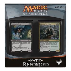 mtg intro decks fate reforged fate reforged clash pack magic products 187 intro packs