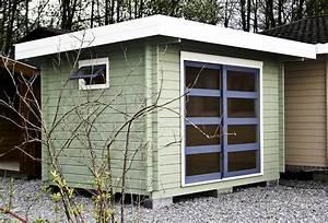 Abri Jardin Sur Mesure : abris jardin toit plat moderne chalets bois qualit sur ~ Dailycaller-alerts.com Idées de Décoration