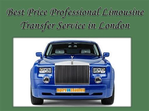 Best Price Limousine Service by Best Price Professional Limousine Transfer Service In
