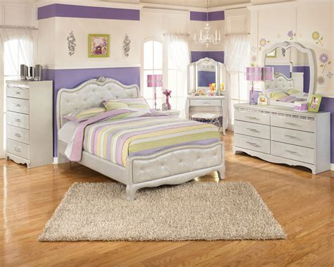 Zarollina Youth Upholstered Bedroom Set From Ashley B182