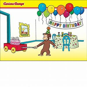 Birthday Party Card - New CG Product