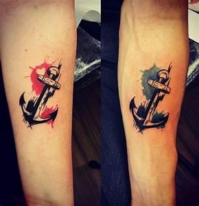 Mini Tattoos Männer : 93 besten anchor tattoos bilder auf pinterest anker anker tattoo und anker tattoo design ~ Frokenaadalensverden.com Haus und Dekorationen