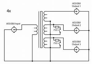 Sonifex Rb Ebu Passive Splitter Bnc Connectors