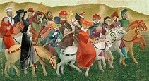 Pilgrims - The Canterbury Tales by G. Chaucer - book on ...