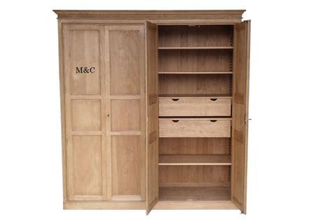 peinture pour meuble cuisine armoire dressing 4 portes pin massif