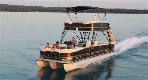 Craigslist Boats Lake Chlain by Catamaran Pontoon Boat Outboard Terrace Deck