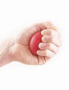 Neo G Hand Rehab  Therapy Silicon Ball  Red Hard Resistance