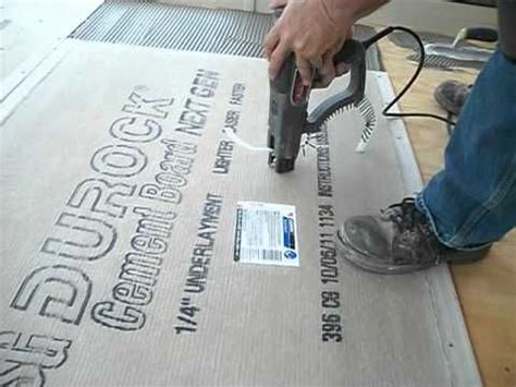 install backer boarddurock  floor tile backer