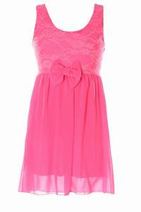 robe fille fluo With robe rose fluo
