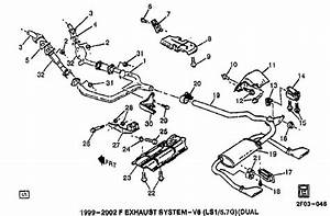 2002 Exhaust Diagram  - Ls1tech
