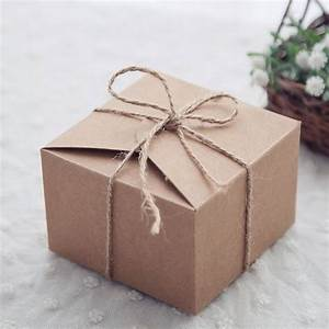 20pcs rustic wedding favors candy boxes packaging snak With boxes for wedding favors
