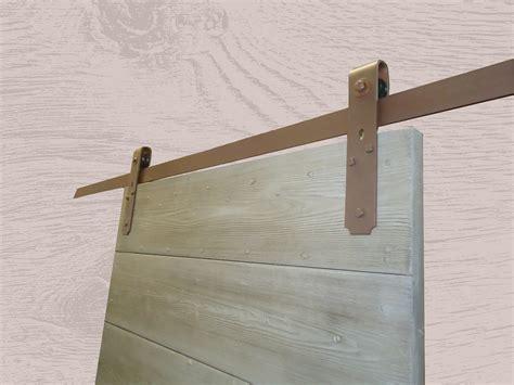 telematin cuisine portes coulissantes avec rail métal et roulettes sur platines