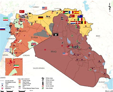 mapping world war  syria iraq  hedge