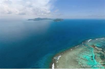 Digue Island Ocean Indian