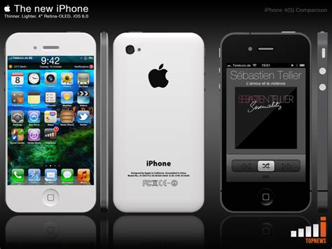 what is the new iphone the new iphone envisioned by itopnews de concept phones
