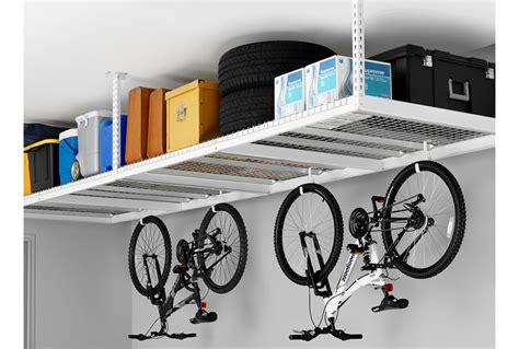 ceiling storage rack designing for an organized garage part 1 using the
