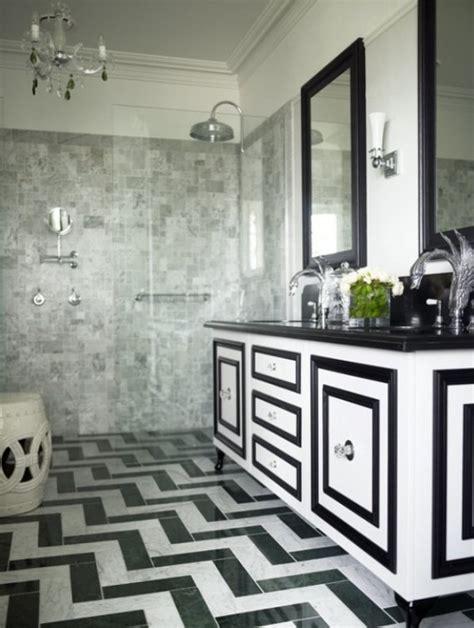 white and black tiles for bathroom черно белая ванная комната полосатые шахматные и другие идеи 25867