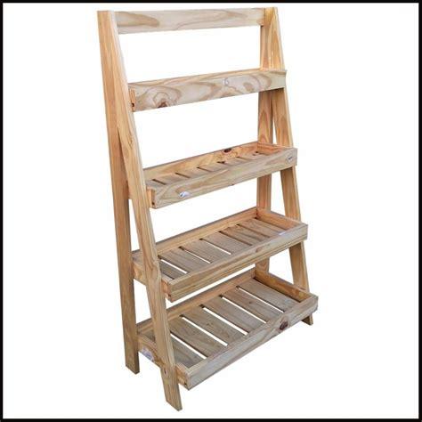 repisa escalera organizadora cm de madera moderna