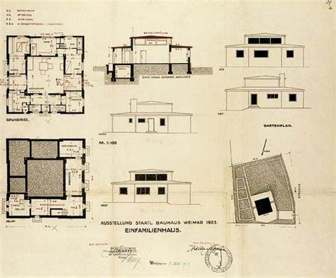 """A Prototypal House At The Bauhaus The """"haus Am Horn"""" By"""
