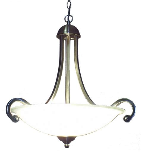 lighting australia serena 3 light inverted bowl pendant