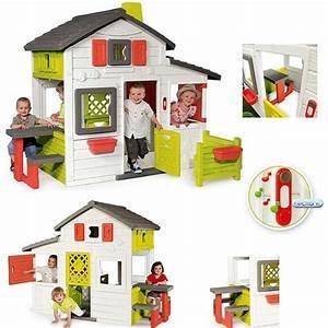 Cabane Enfant Plastique : maison enfant exterieur smoby les cabanes de jardin abri de jardin et tobbogan ~ Preciouscoupons.com Idées de Décoration