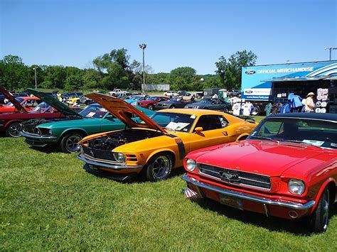 Car Show Recap Mustangs Gallop Through Historic Valley