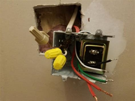 how to install a doorbell with transformer side of problems installing doorbell transformer doityourself