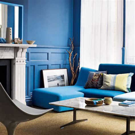 modern living room colors blue culoarea albastru pe pereti Modern Living Room Colors Blue
