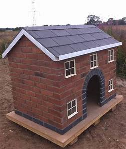 Justkennels designer living for dogs quality brick built for Amazing dog kennels