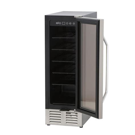 under cabinet wine fridge spt 19 bottle under counter wine cooler wc 1901us the