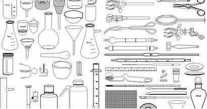 Coloring Lab Chemistry Pages Equipment
