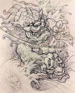 25+ best ideas about Foo Dog Tattoo on Pinterest | Foo dog ...
