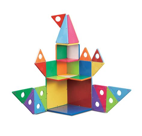Magna Tiles Clear Colors 74 Piece Set by Magna Tiles 174 Clear Colors 48 Piece Deluxe Set Magnatiles