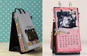 scrapbook calendar craftingeek