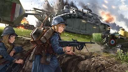 Anime Soldiers Artwork Desktop Soldier Laptop Wallhaven