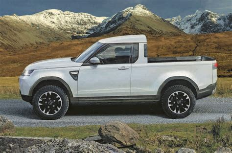 Defender Truck by Land Rover Defender Up Truck In Development Rivals