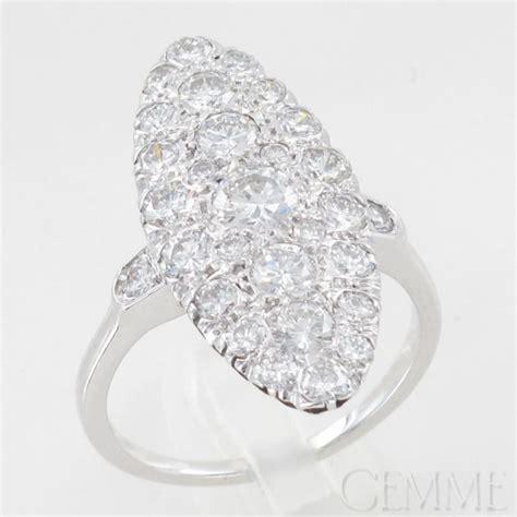 bague marquise diamant