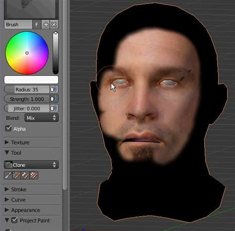 Loran Blender Projection Painting Texture Tutorial