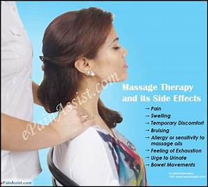 Massage Therapy  Side Effects  U0026 Ways To Avoid The Risks