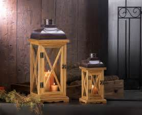 home interiors sconces hayloft large wooden candle lantern wholesale at koehler home decor
