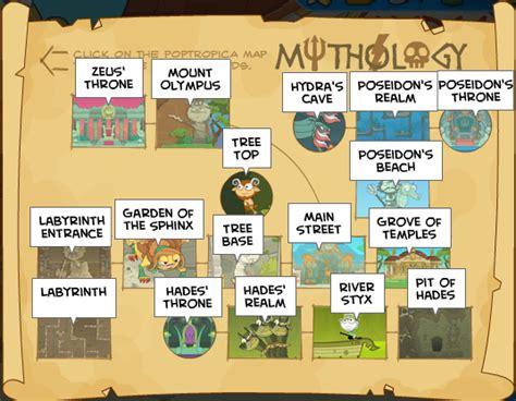 Mythology Island  Poptropica Help Blog